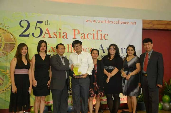 They won in Asia Pacific Excellence Award recently!