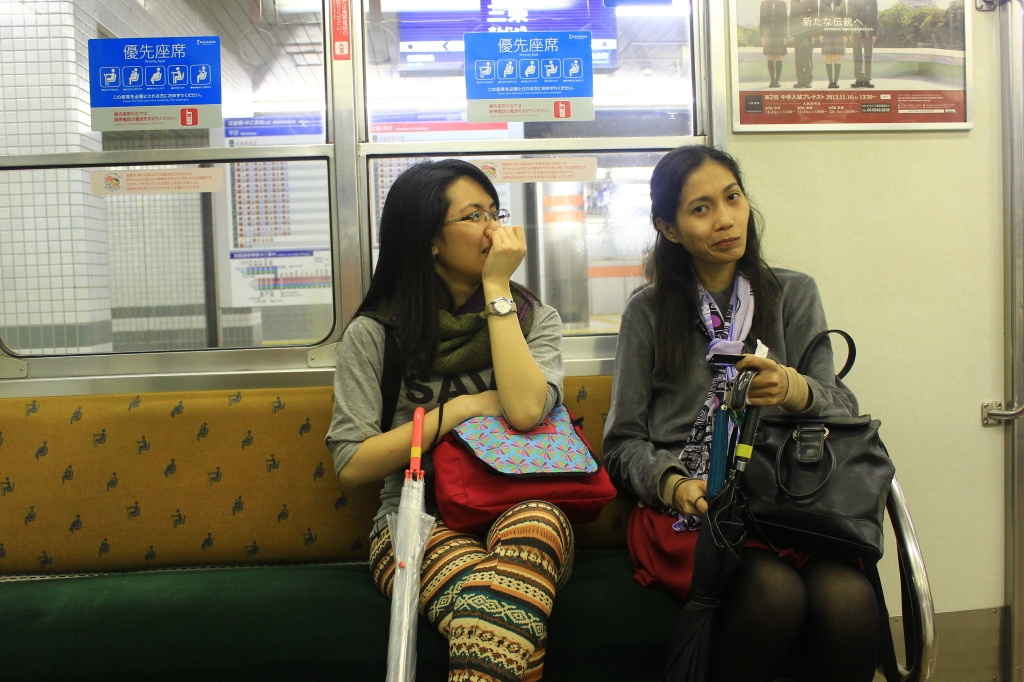 Navigating yourself in subway takes work also